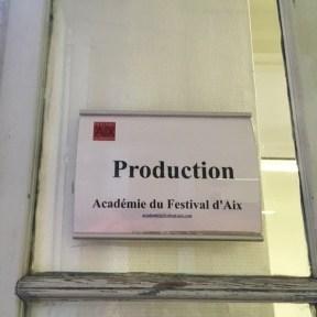 En vadrouille 6 - Dans les coulisses du Festival d'Aix en Provence 2017 -
