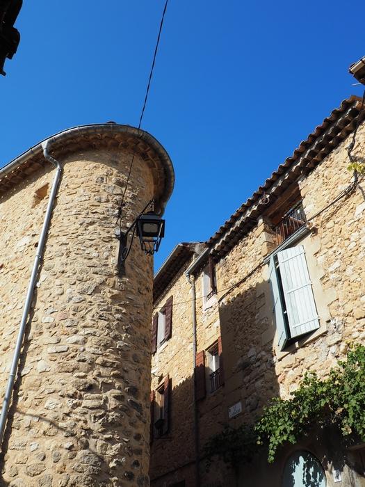 Village de Jouques en Provence