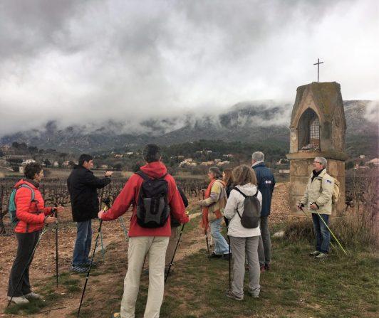 Marche nordique Aix en Provence Outdoor à Sainte Victoire