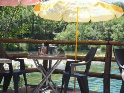Guinguette rive du Verdon