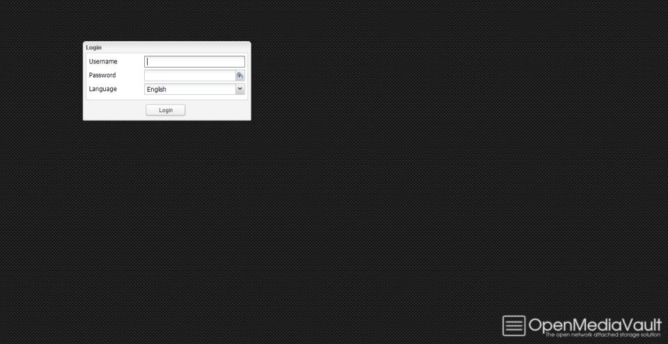 Interface WEB : Login