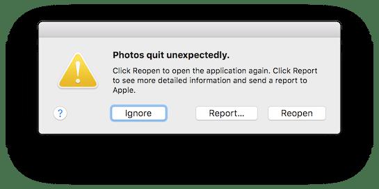 Using the OS X crash reporter to diagnose a program failure