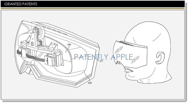 Uno dei brevetti registrati da Apple