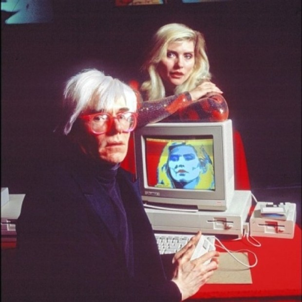 warhol andy amiga icon