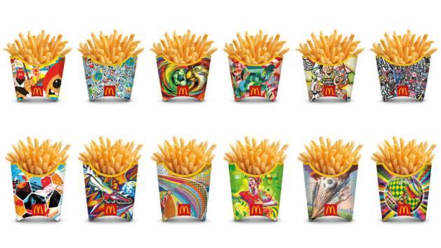 McDonald Edizione speciale Brasil 2014