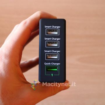 le quattro prese USB