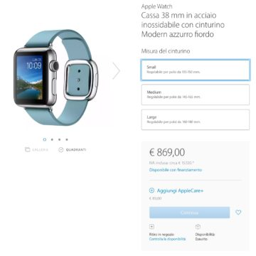 Apple Watch esaurito 3