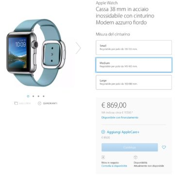 Apple Watch esaurito 4