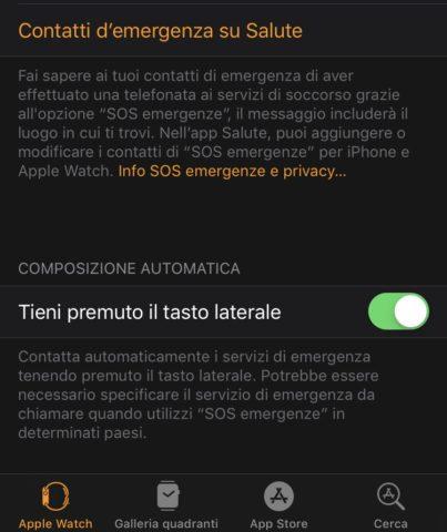 Funzione SOS Emergenze Apple Watch, come usarla al meglio