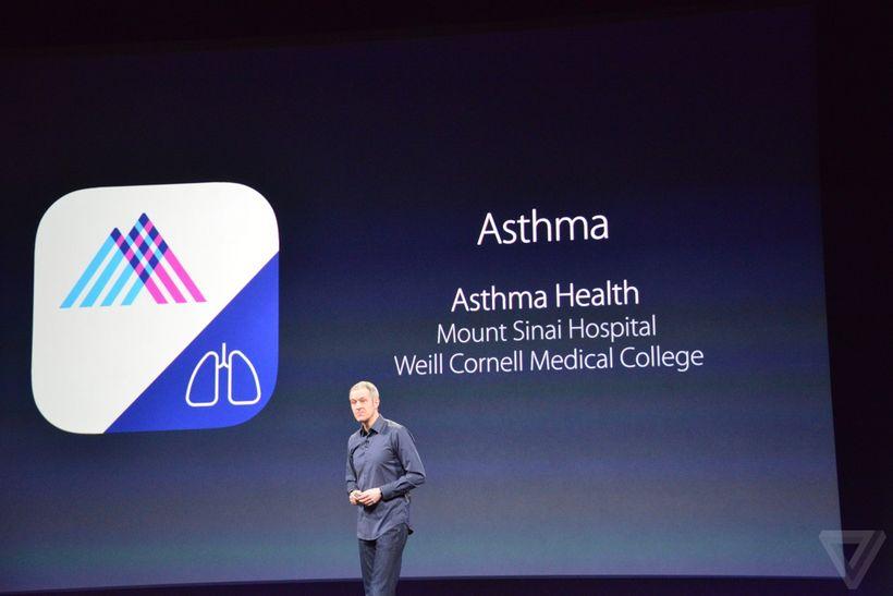 ResearchKit e asma
