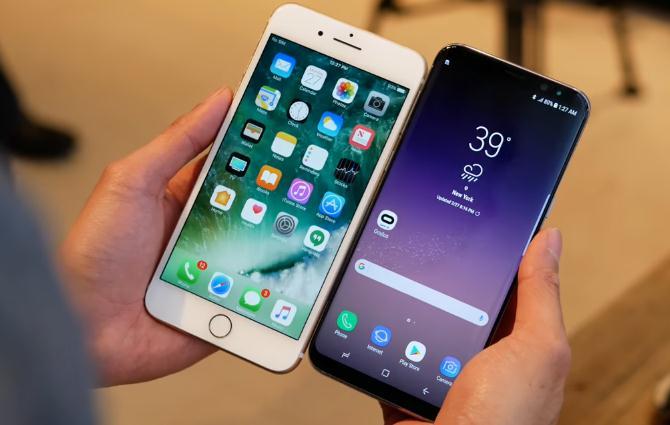 s8 iphone 7