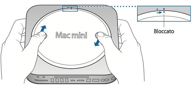 Aumentare la RAM nel Mac mini