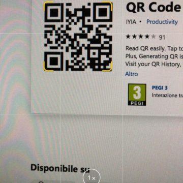 Come scannerizzare velocemente codici QR e documenti su iOS 12