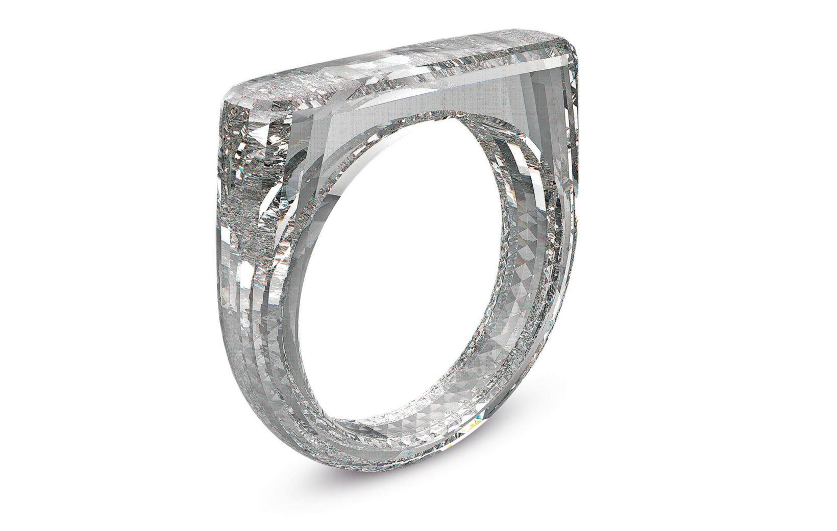 Un anello ideato da Jony Ive e Marc Newson