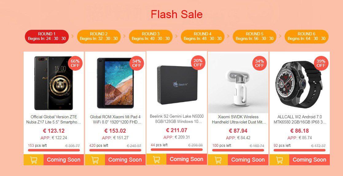 Coupon per il valore di 1 milione di dollari su Geekbuying: si vince anche uno Xiaomi Mix 2s