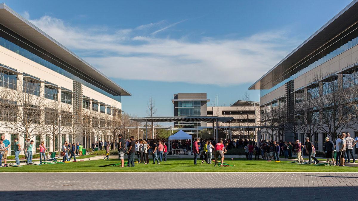 Campus Apple di Austin (Texax) impiega 6200 persone. È quella con il più alto numero di dipendenti dopo Cupertino.