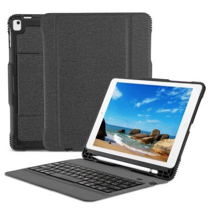 Omoton, la custodia per iPad 2018 con tastiera e taschino per Apple Pencil