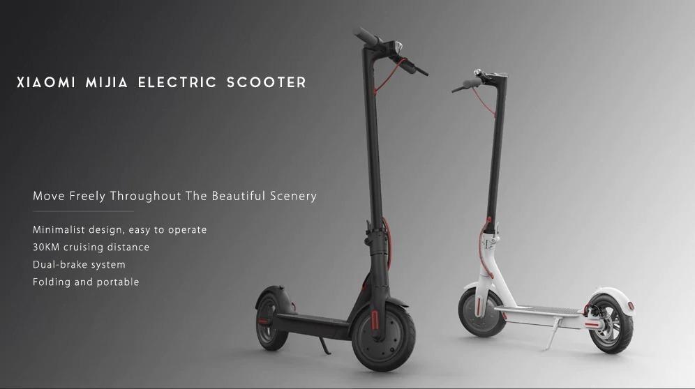 Xiaomi M365, lo scooter elettrico pieghevole in super offerta a 330 euro