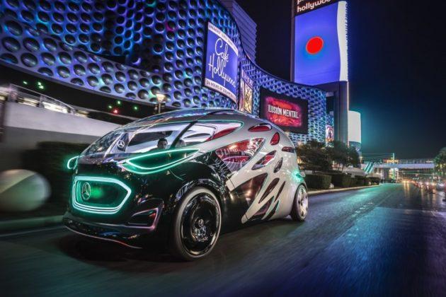 CES 2019, Vision Urbanetic e altre novità di Mercedes-Benz