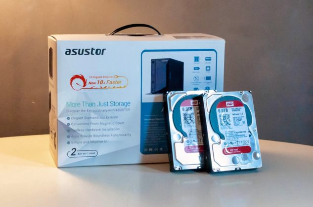 Asustor AS4002T, recensione del NAS super silenzioso