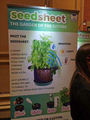 CES 2019, con Seedsheet il giardinaggio è davvero per tutti