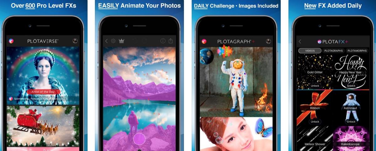 Le foto prendono vita con Plotaverse per iPhone e iPad