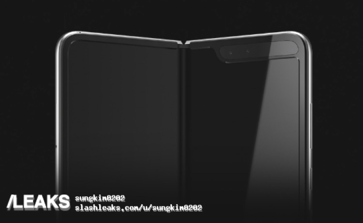 Galaxy Fold, il primo Samsung pieghevole svelato dai render