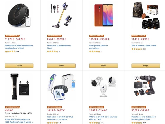 Amazon Hidden Treasures on Friday: waiting for Black Friday