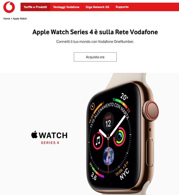 Vodafone OneNumber per Apple Watch non funziona e gli utenti pagano