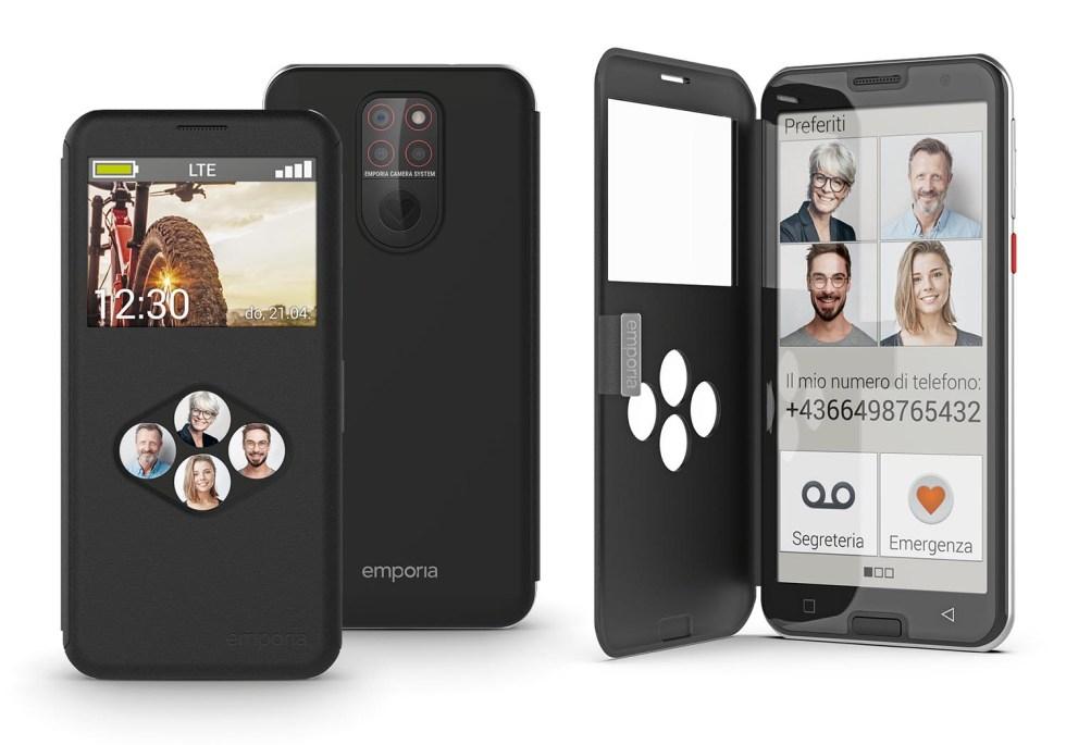 emporia SMART.5, en Italie le nouveau smartphone pour les plus de 65 ans
