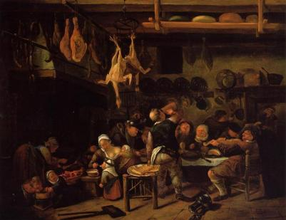 Fat Kitchen by Jan Steen