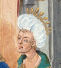 Lady in a turban and crown, 1479