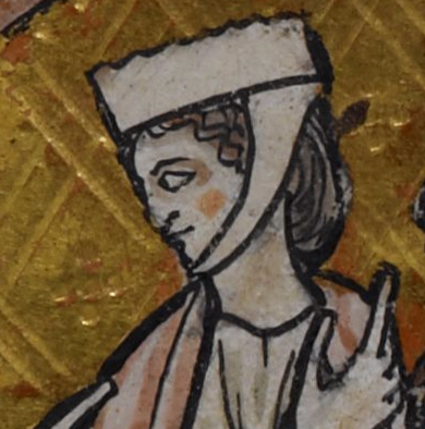 Barbette and a chin band c. 1240