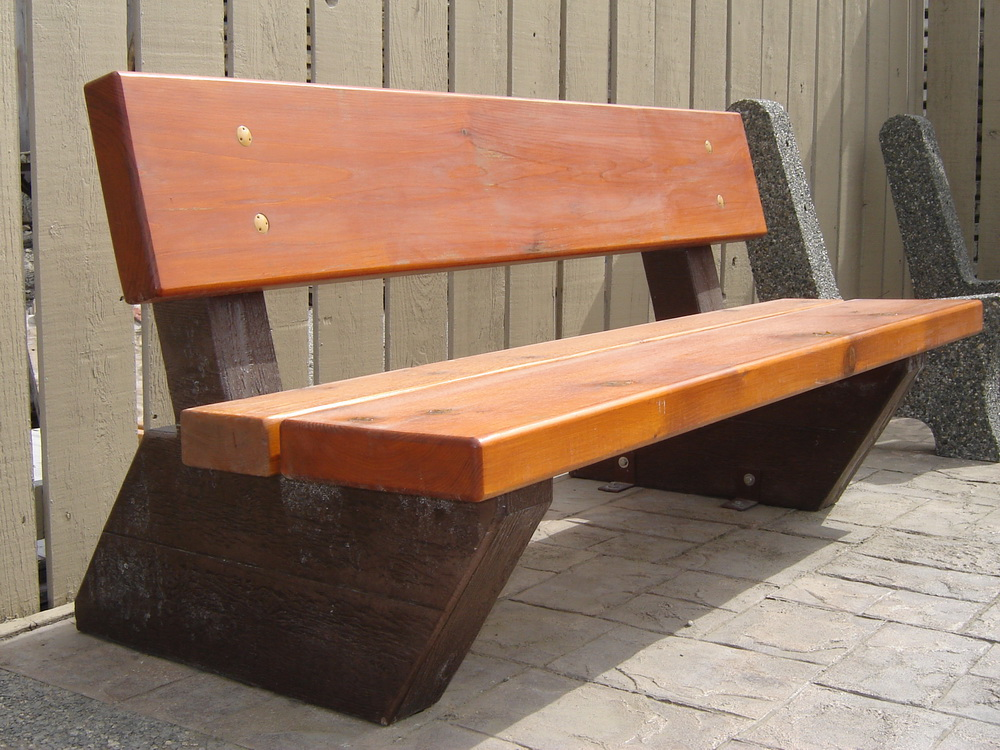 Rustic Bench Mackay Precast Products