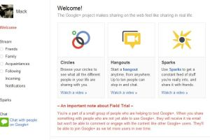 The key feature that neither Google+ or Facebook really addresses