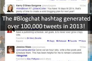 Amazing #Blogchat Stats From 2013