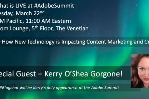 #Blogchat Will Be LIVE at the Adobe Summit Again This Year!
