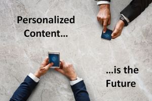 What's Next For Blogging? Delivering Personalized Content Based on Visitor Intent
