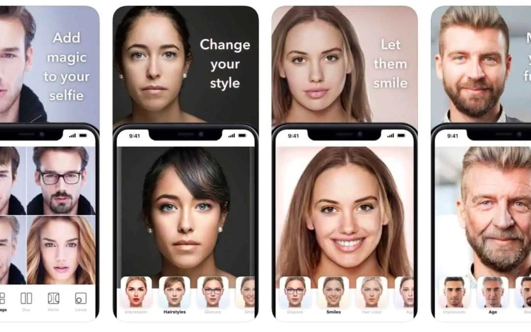 Du ger bort dina bilder och din information i Faceapp