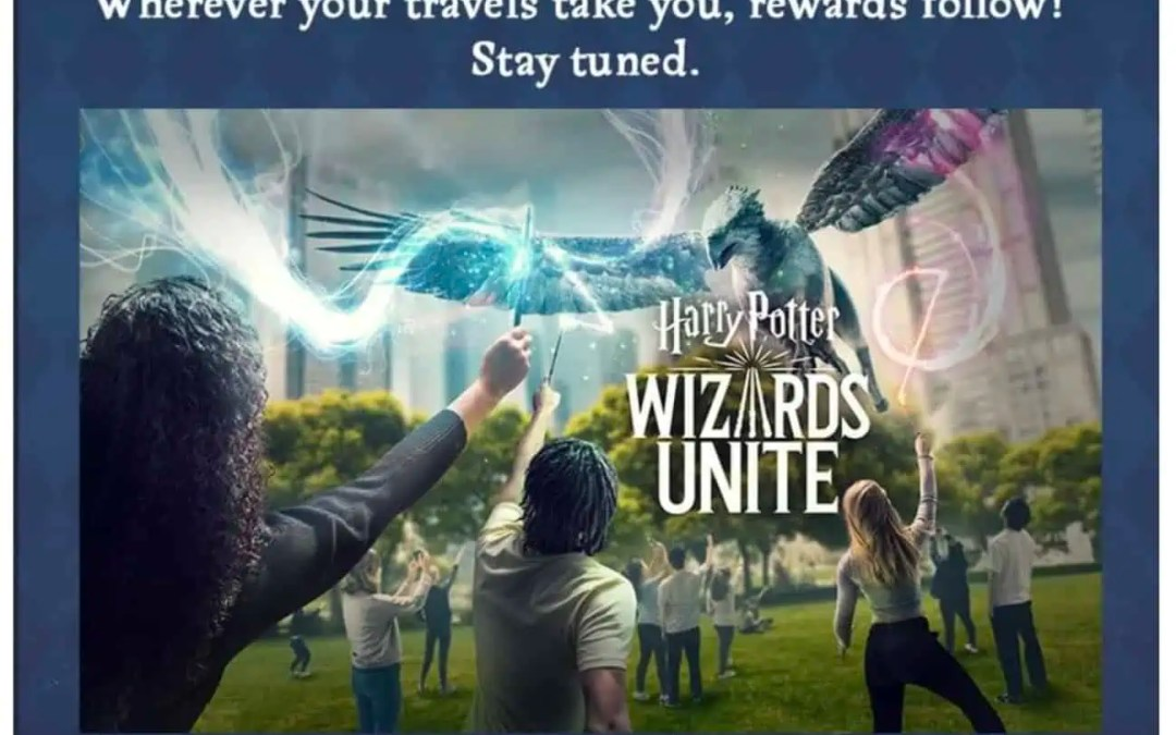 Wizards Unite: Nu kommer Adventure Sync