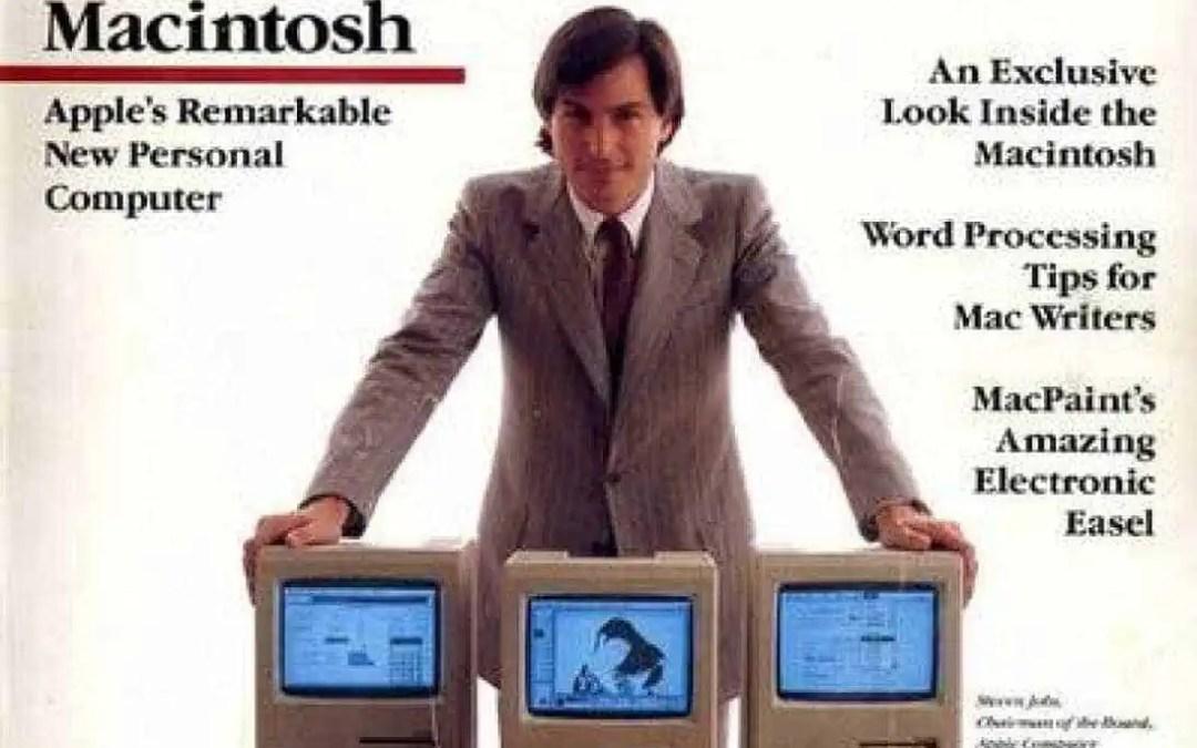 För 36 år sedan: Steve Jobs visar Apples första Macintosh