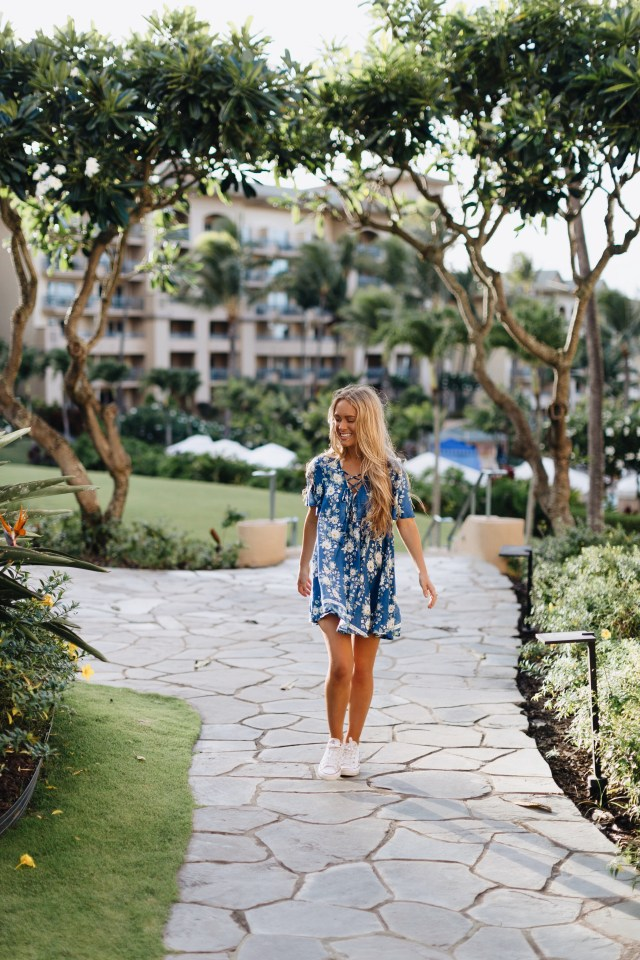 mackenziekendall blog | brunch of blooms cruise mumu dress