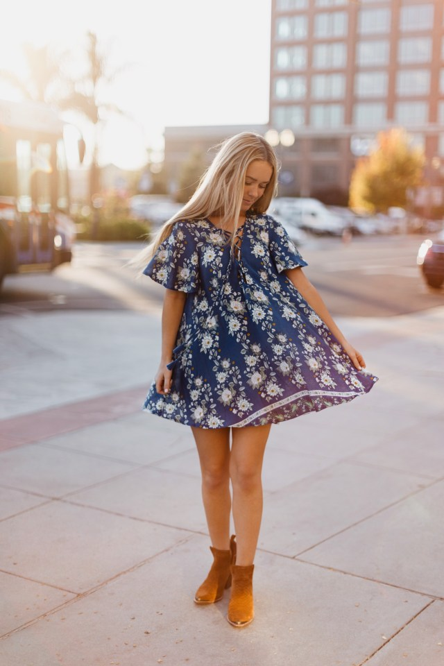 brunch of blooms cruise dress