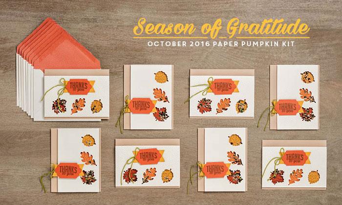 October2016 Paper Pumpkin