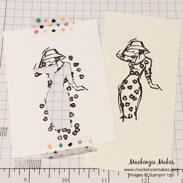 Beautiful You Meets This Little Piggy – Learn how to use the This Little Piggy stamp set in an unexpected way when paired with the Beautiful You stamp set. | #mackenziemakes #makewithme #stampinup | www.mackenziemakes.com
