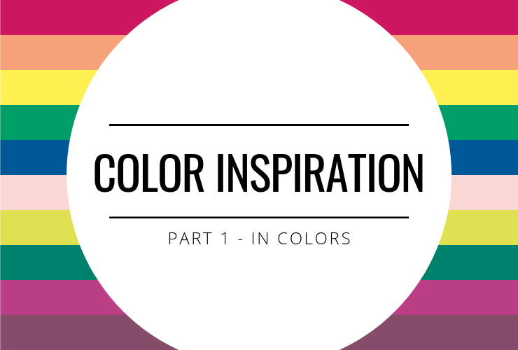 Color Inspiration - In Colors
