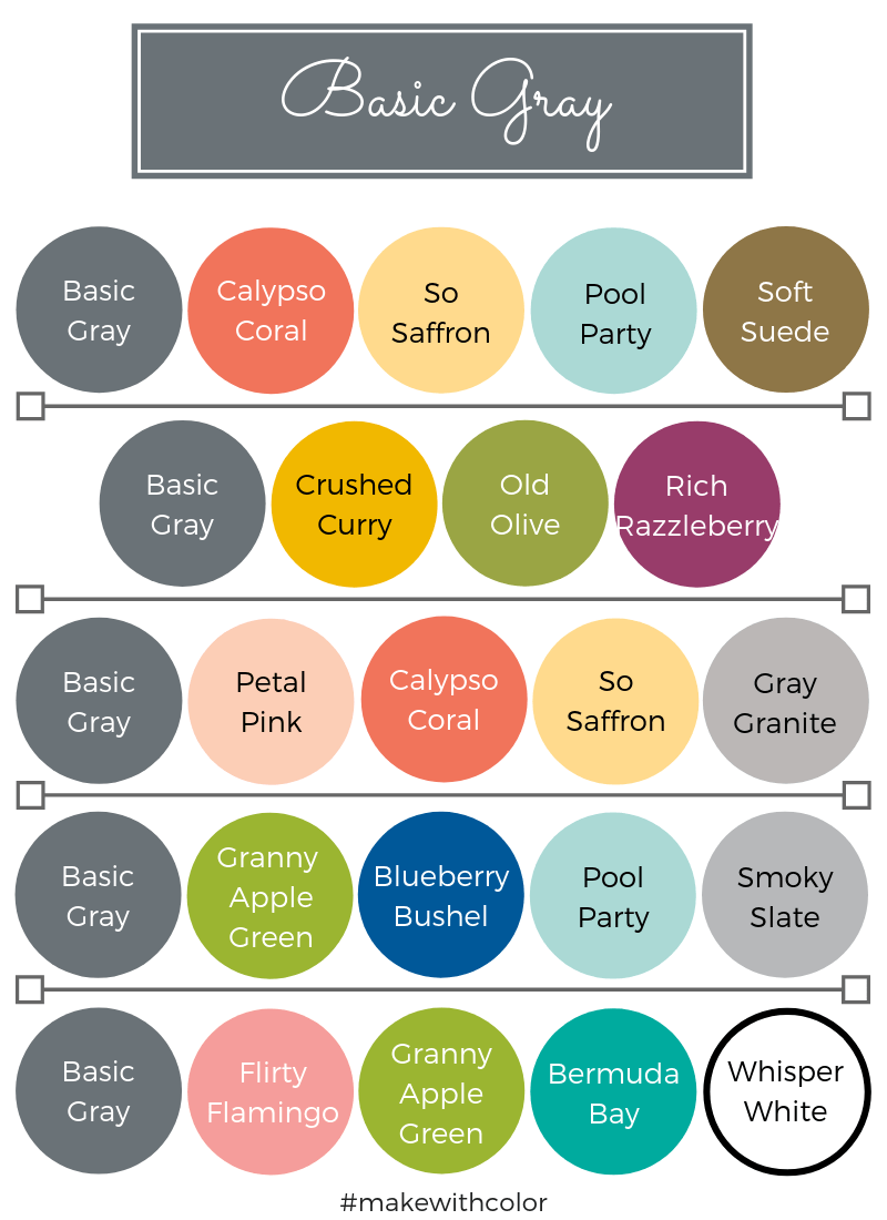 Color Combos Basic Gray