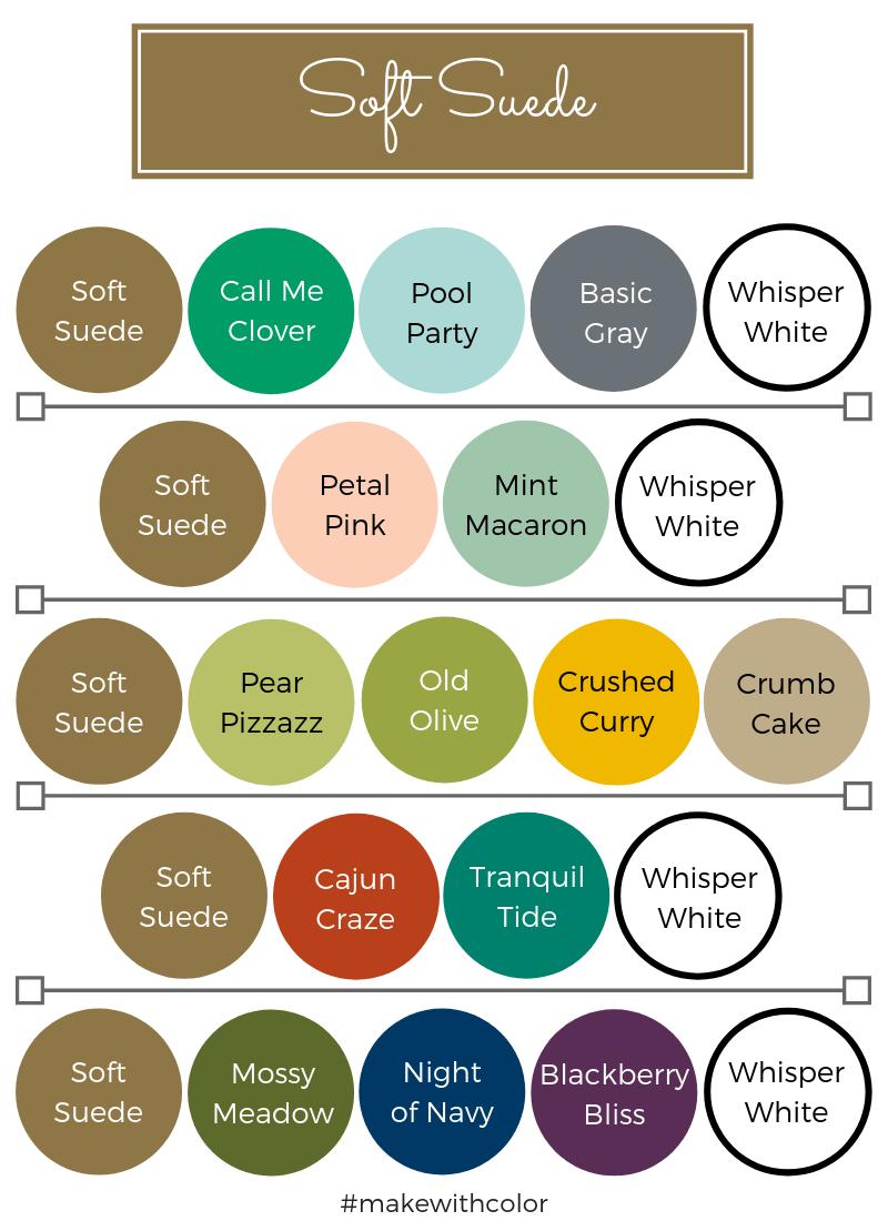 Color Combos Soft Suede