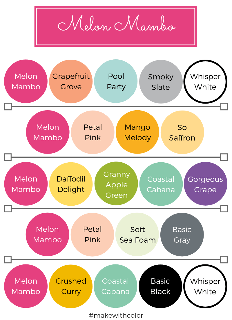 Color Combos Melon Mambo