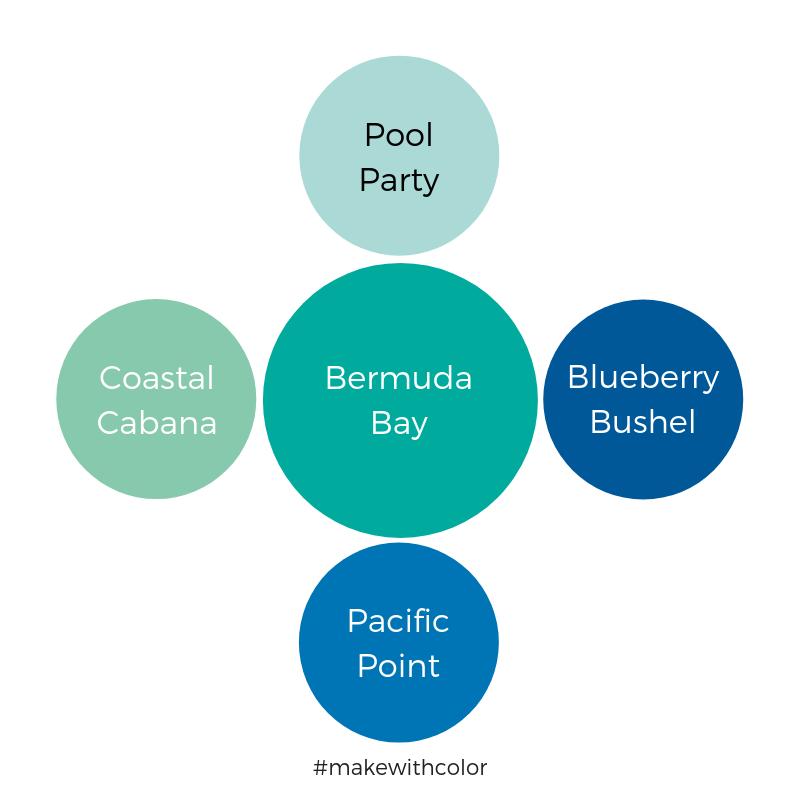 Color Comparison Bermuda Bay